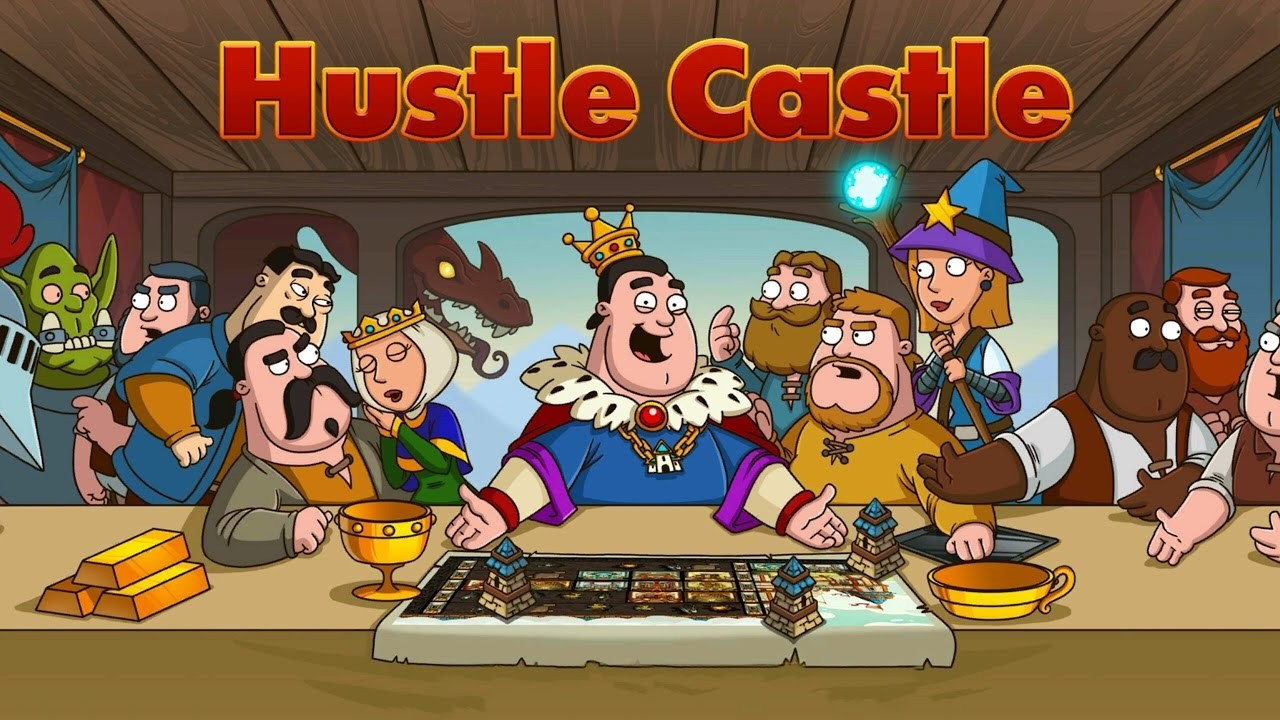 Hustle Castle Fantasy Kingdom онлайн RPG і стратегія