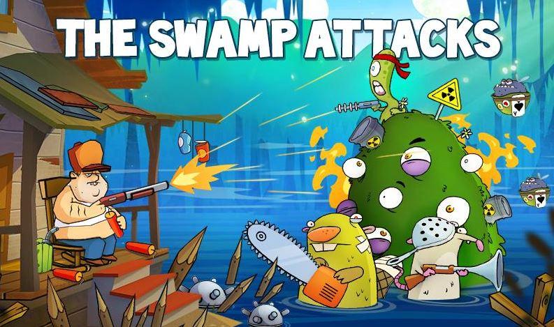 Гра Swamp Attack