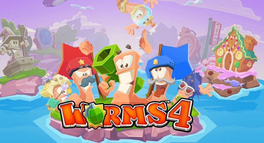 Гра Worms 4