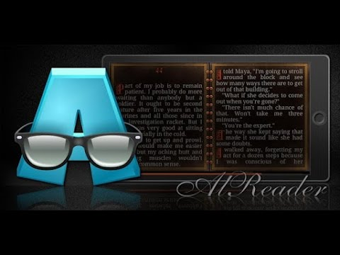 AlReader -any text book reader