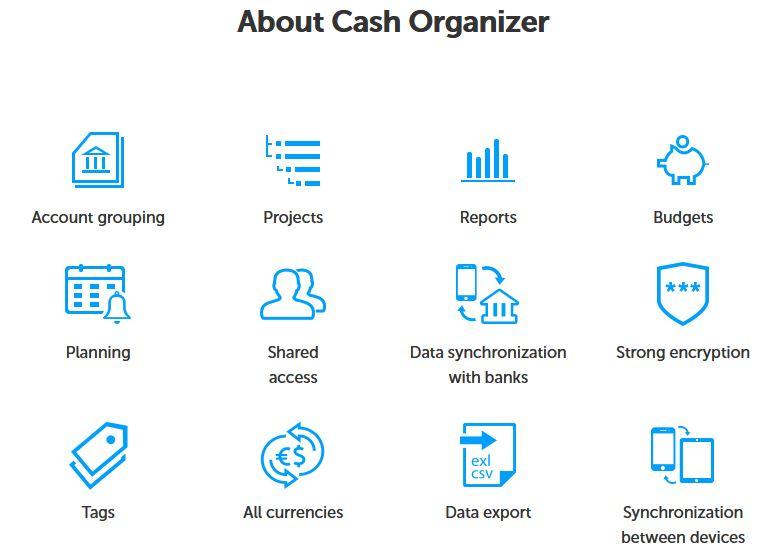 Cash Organizer