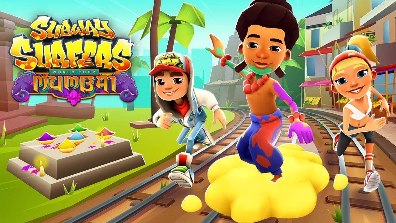 Аркада Subway Surfers